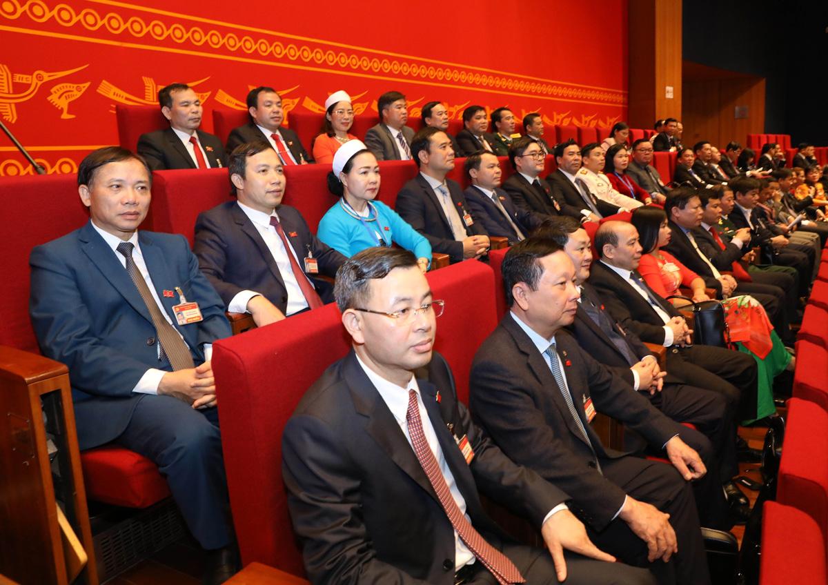 Đại biểu dự phiên họp trù bị Đại hội XIII