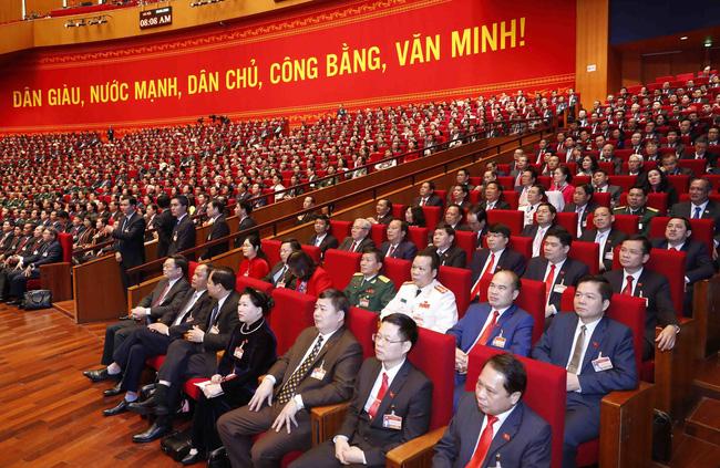 Chiều 27/1/2021, Đại hội tiếp tục nghe các tham luận của các Đoàn đại biểu