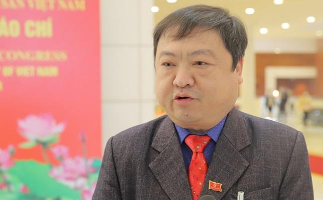 Đại biểu Sùng Đại Hùng, Giám đốc Sở Lao động Thương binh và Xã hội tỉnh Hà Giang
