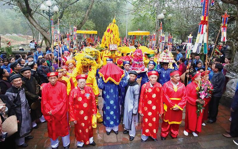 Lễ hội Đền Sóc (huyện Sóc Sơn, Hà Nội) được tổ chức vào đầu tháng Giêng hằng năm.