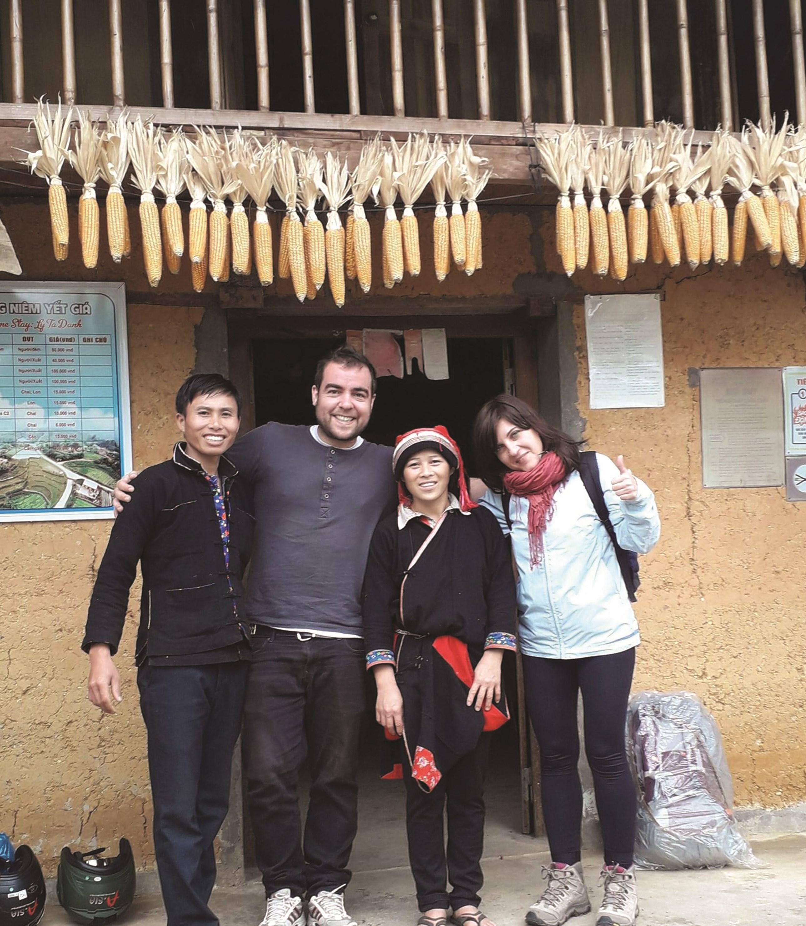 Homestay của gia đình anh Lý Tà Đành đáp ứng đầy đủ nhu cầu của khách du lịch, đặc biệt là khách nước ngoài.