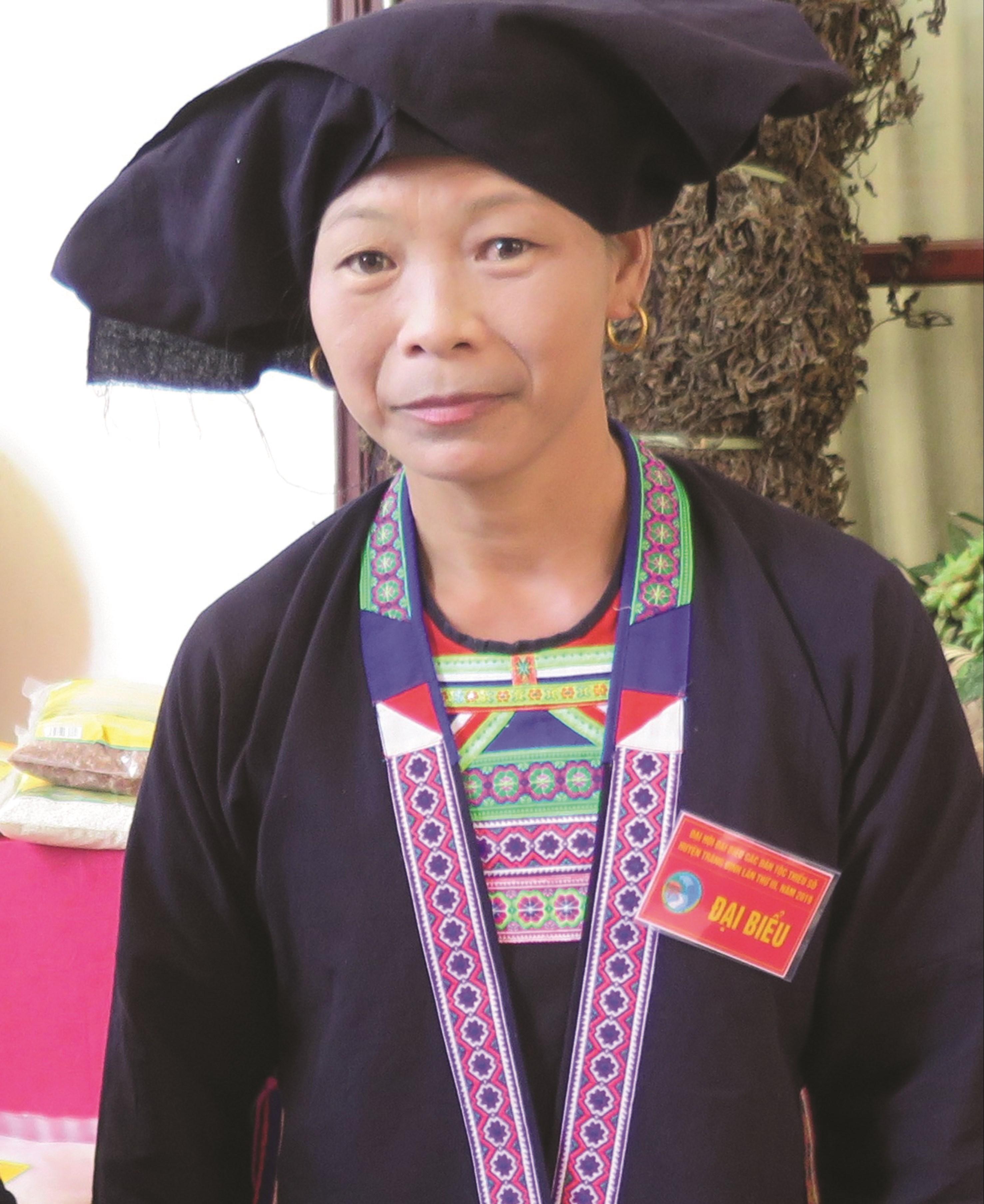 Bà Vi Thị Thu Hà.