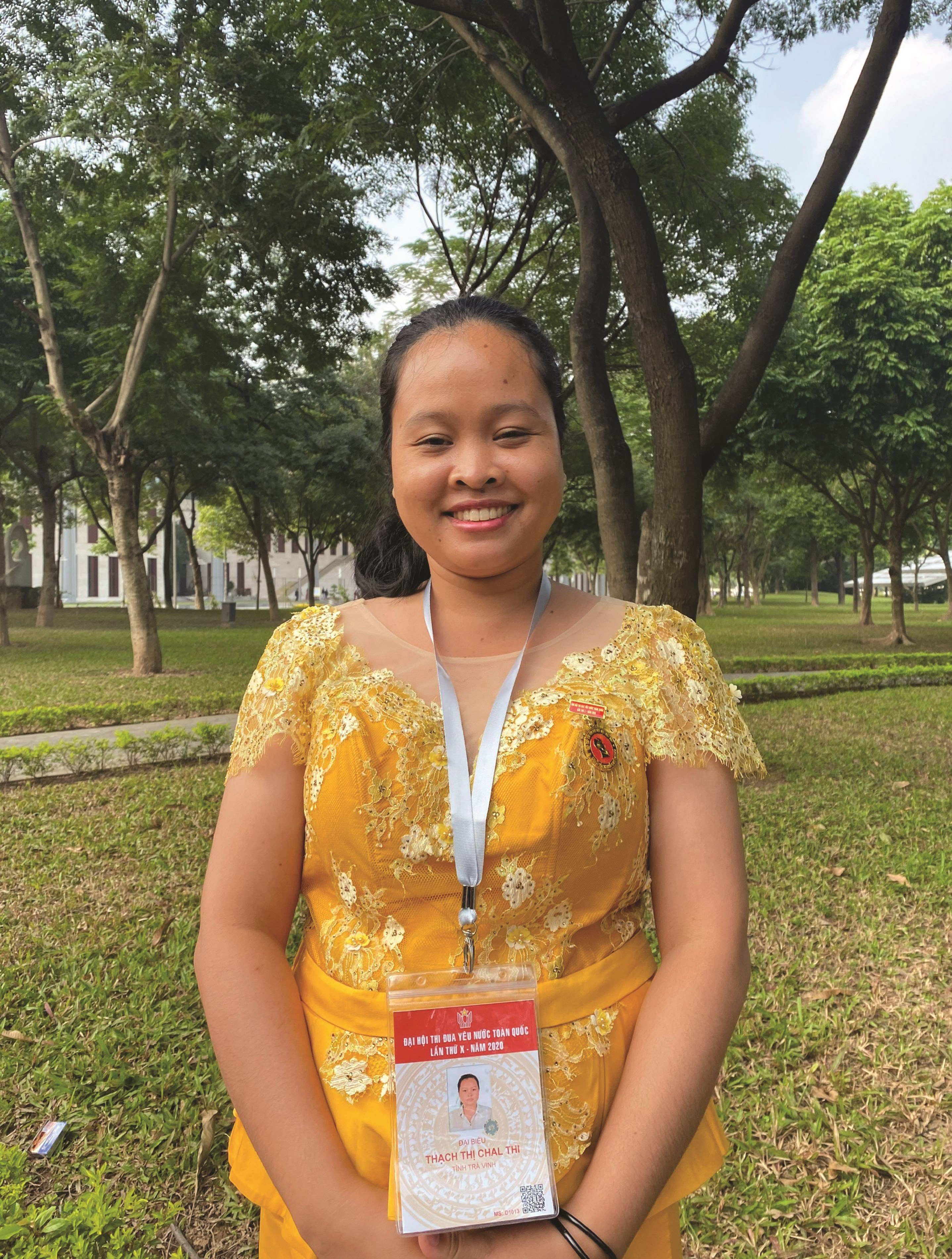 Bà Thạch Thị Chal Thi.