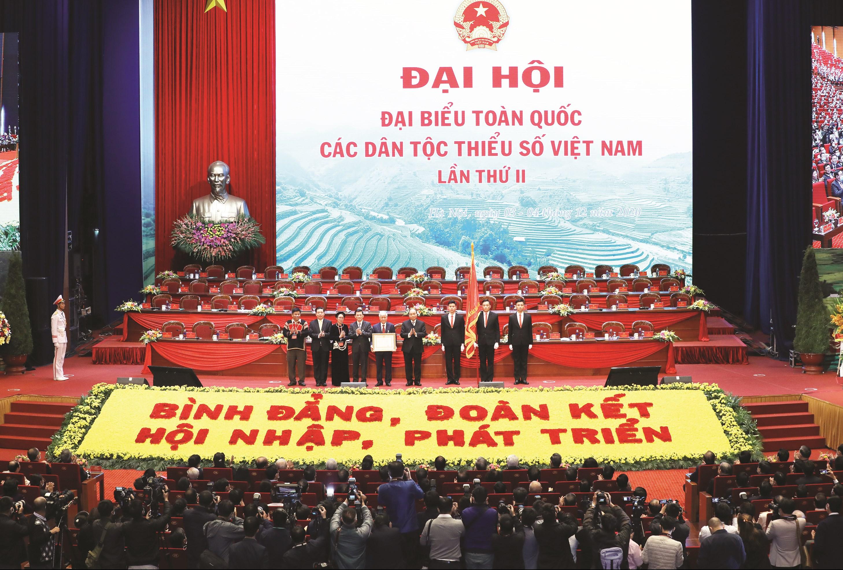 Đại hội Đại biểu toàn quốc các DTTS Việt Nam lần thứ II năm 2020 là một biểu tượng đặc biệt về khối đại đoàn kết các dân tộc.