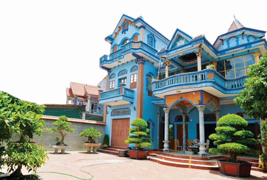 Những ngôi nhà đẹp, khang trang ở làng Phẩm, xã Dương Thành, huyện Phú Bình (Thái Nguyên) là kết quả từ việc kinh doanh đúng hướng.