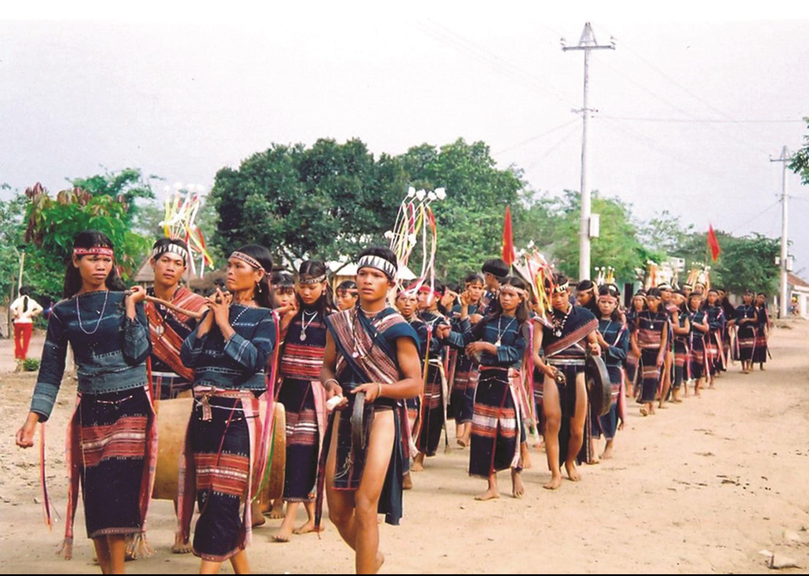 Một lễ hội của đồng bào Gia Rai ở Tây Nguyên