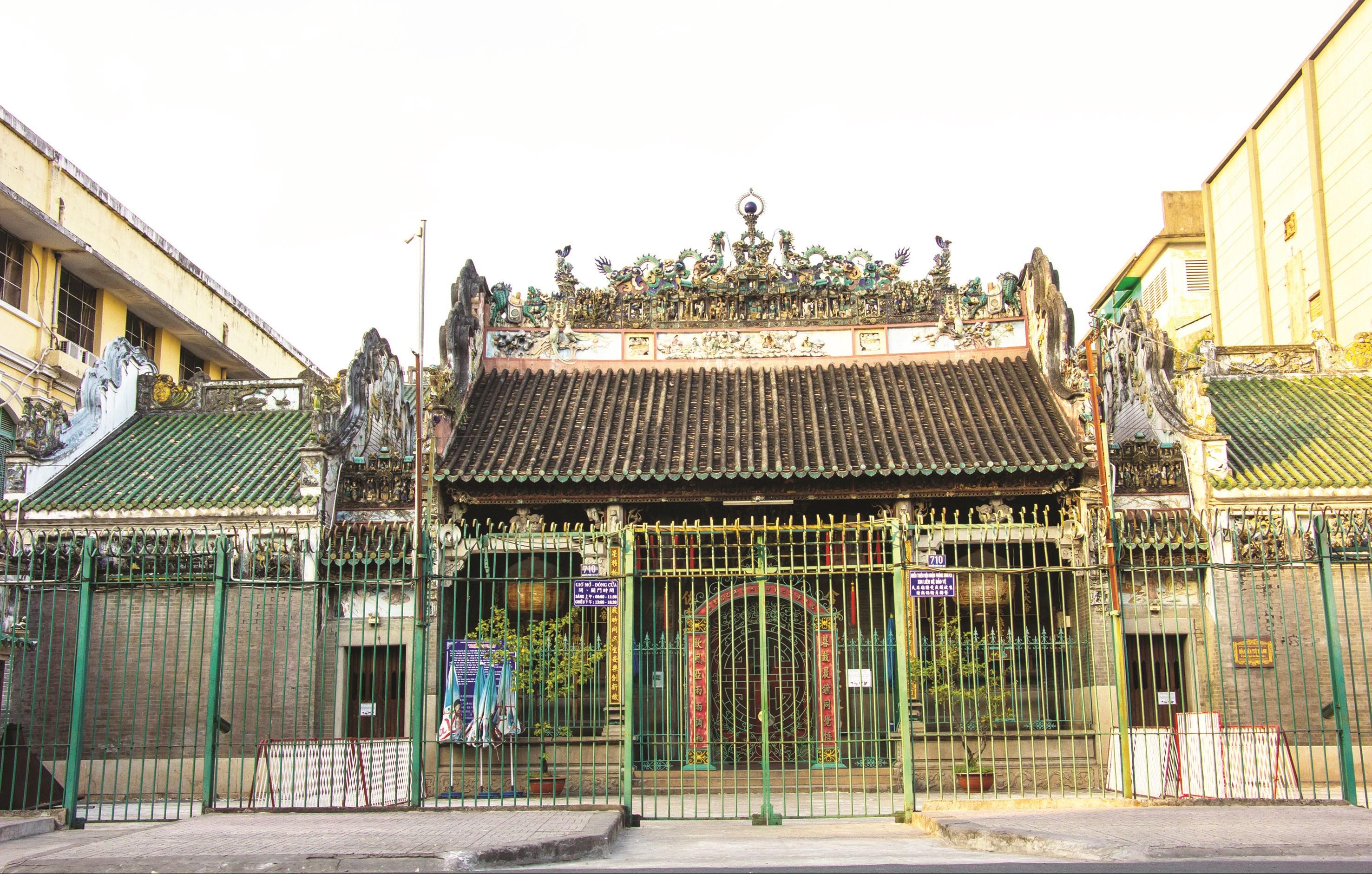 Hội quán Tuệ Thành, một Hội quán lâu đời trên đường Nguyễn Trãi, quận 5, TP. Hồ Chí Minh.