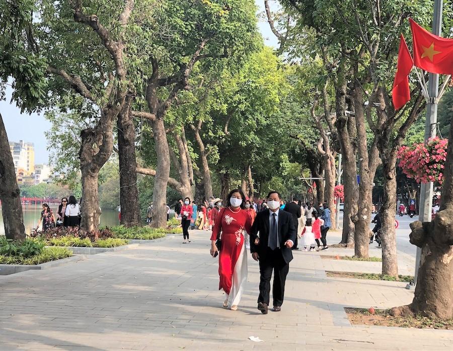 Lượng khách du lịch tại Hà Nội trong dịp Tết Nguyên đán Tân Sửu đạt 122 nghìn lượt.