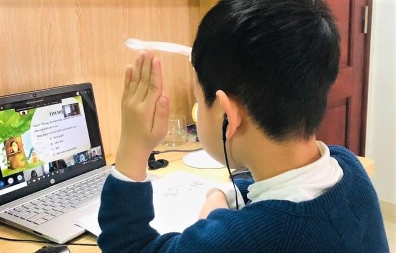 Học trực tuyến là giải pháp hữu hiệu trong mùa dịch khi học sinh không thể đến trường. (Ảnh minh họa)