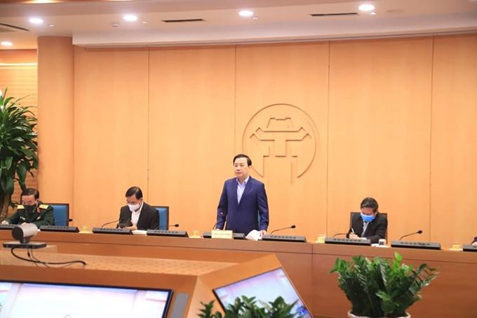 Phó Chủ tịch UBND TP Hà Nội Chử Xuân Dũng, Trưởng Ban chỉ đạo chủ trì phiên họp