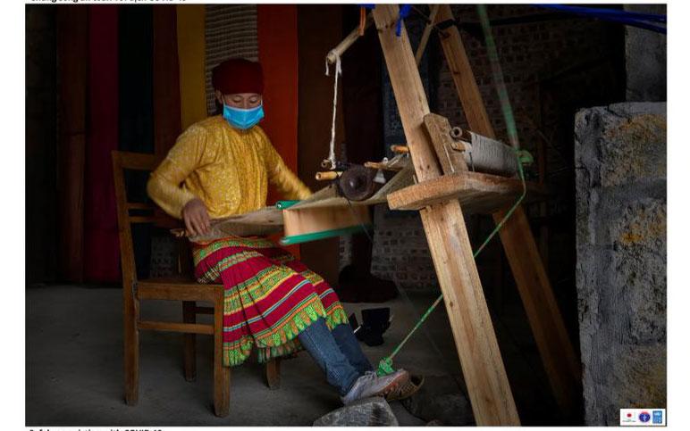 Bộ ảnh đồng bào các dân tộc Hà Giang phòng, chống Covid-19, phát triển kinh tế bền vững 2