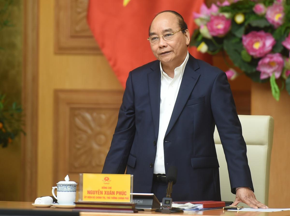 Thủ tướng Nguyễn Xuân Phúc: Phải chống lợi ích nhóm, tiêu cực trong điều chỉnh quy hoạch - Ảnh: VGP