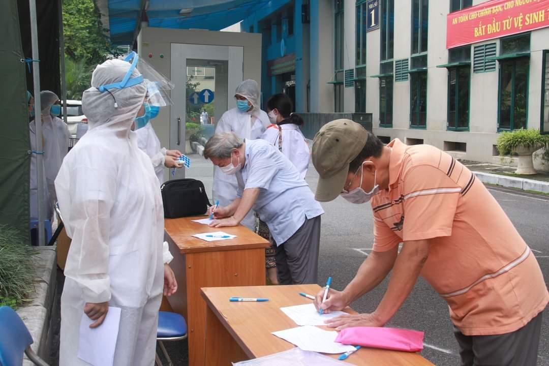 Khai báo y tế khi đến bệnh viện