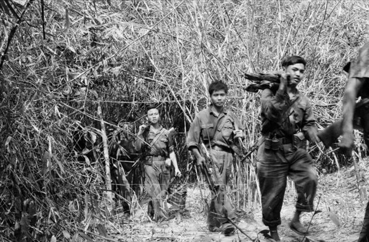Tròn nửa thế kỉ đã trôi qua, song chiến thắng Đường 9 - Nam Lào 1971 sẽ còn được ghi nhớ mãi. Ảnh: TTXVN.