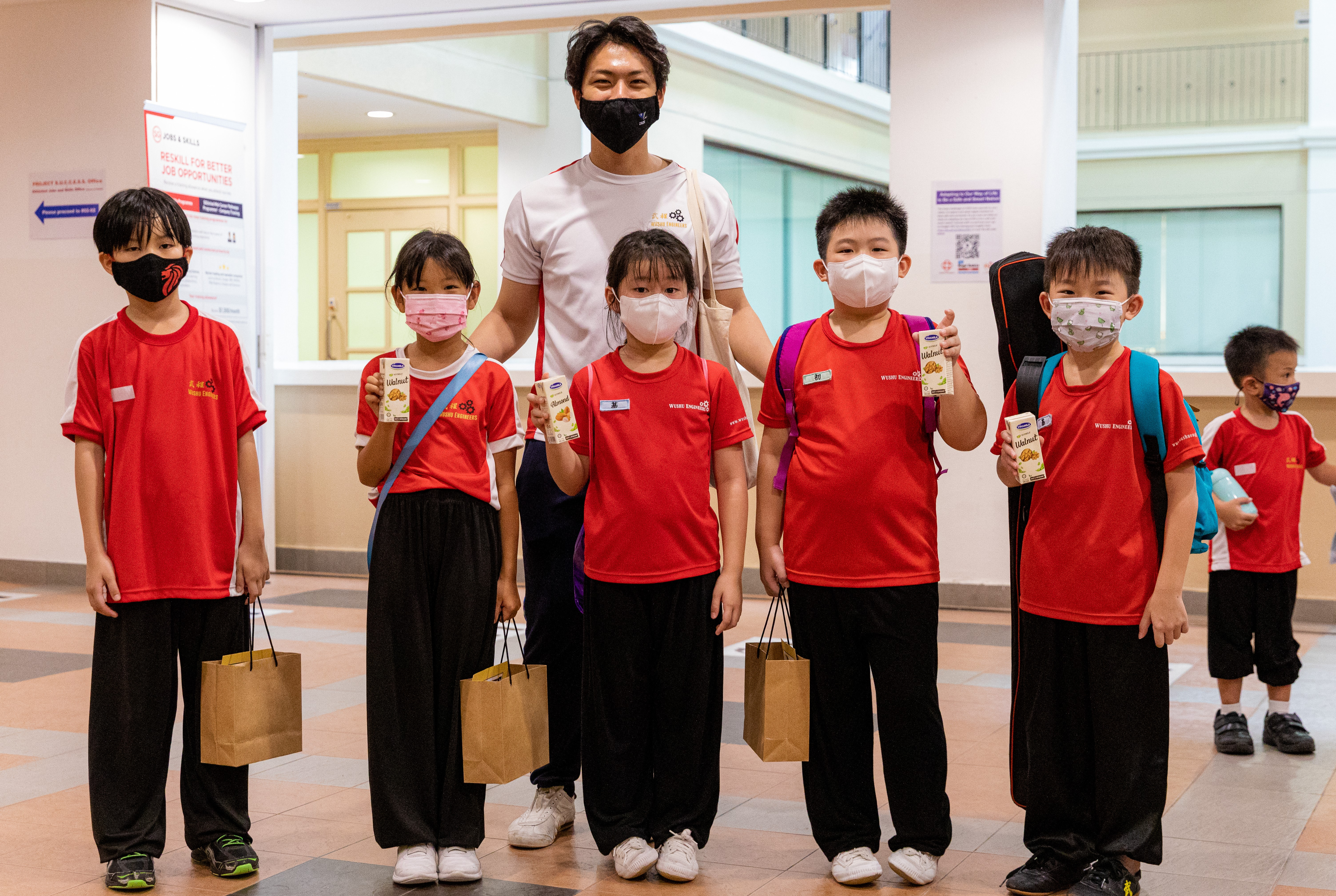 Vinamilk đồng hành với các hoạt động cộng đồng tại Singapore để quảng bá cho thương hiệu và sản phẩm