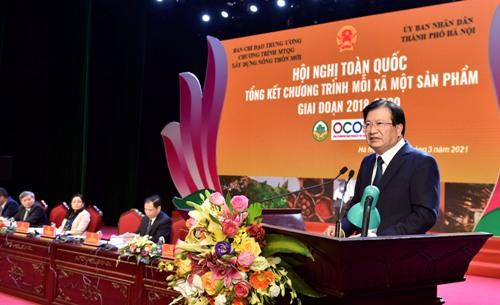 Phó Thủ tướng Trịnh Đình Dũng phát biểu tại Hội nghị