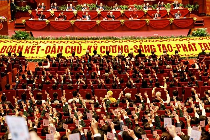 Thành công của Đại hội Đảng toàn quốc lần thứ XIII đã thổi bùng lên ý chí và khát vọng vươn lên của cả dân tộc trong giai đoạn mới. (Ảnh minh họa: HH)