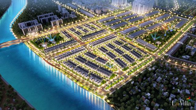 Sản phẩm nhà phố xây sẵn khu đô thị La Villa Green City làm một trong những dự án điển hình thu hút nhiều cư dân và nhà đầu tư tại TP. Tân An ngay đầu năm 2021