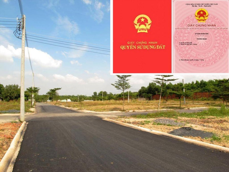 Trường hợp người sử dụng đất đáp ứng đủ các điều kiện theo quy định sẽ được cấp chung một sổ đỏ cho nhiều thửa đất. Đồ họa: Minh Huy