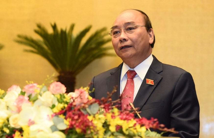 Chủ tịch nước Nguyễn Xuân Phúc phát biểu nhậm chức