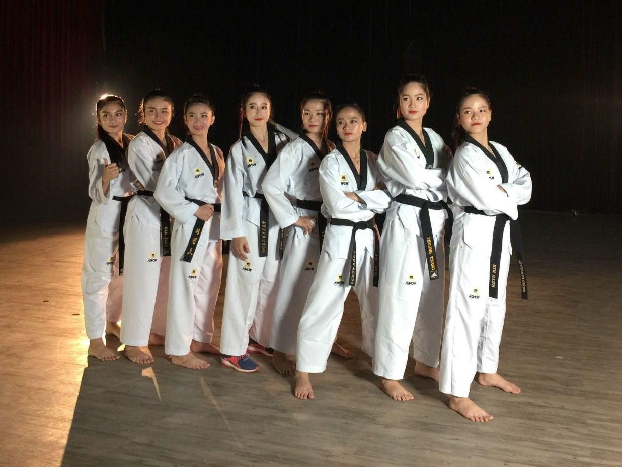 Đội quyền Taekwondo Việt Nam sẽ tham gia biểu diễn tại chuỗi sự kiện.