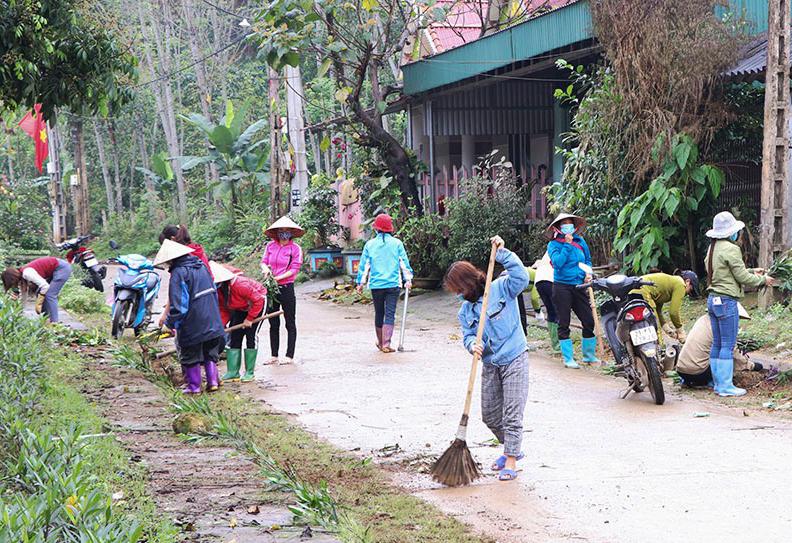 Phụ nữ Yên Bái tích cực tham gia phong trào bảo vệ môi trường