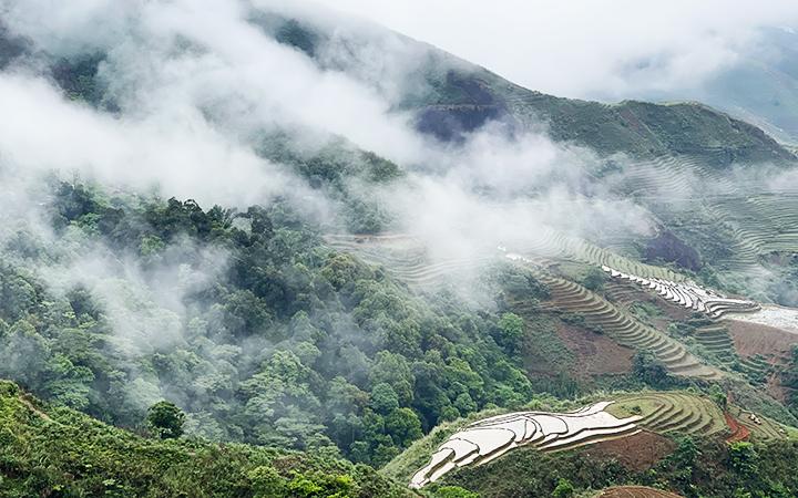 """Một góc Tà Xùa, điểm đến """"săn mây"""" ưa thích của đông đảo khách du lịch"""