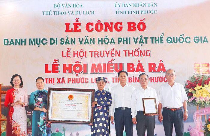 Lễ hội Miếu Bà Rá vừa được công nhận Di sản văn hóa phi vật thể Quốc gia
