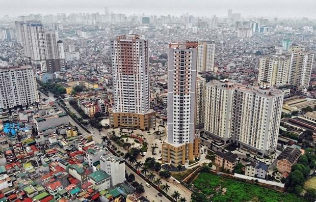 Một góc thành phố Hà Nội. (Ảnh: Danh Lam/TTXVN)