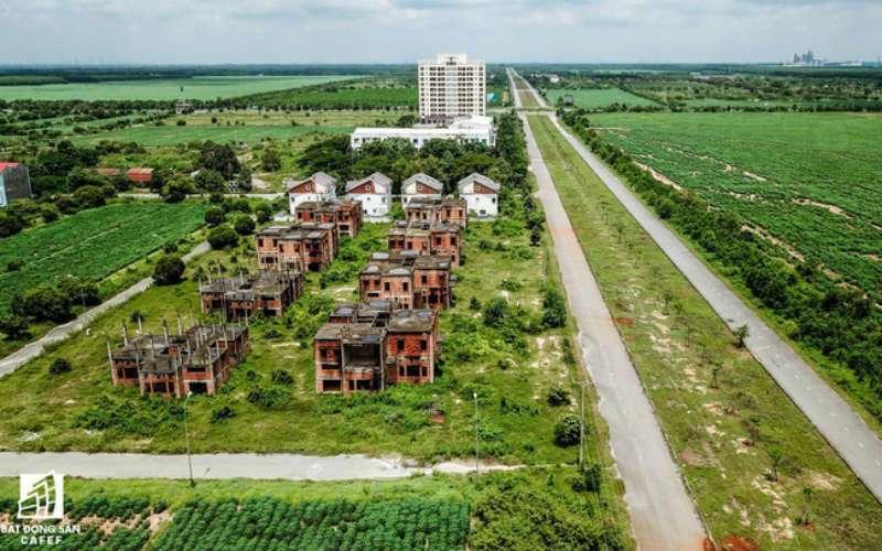 Sau nhiều cơn sốt đất, nhiều khu vực ở Nhơn Trạch, Đồng Nai vẫn vắng bóng người
