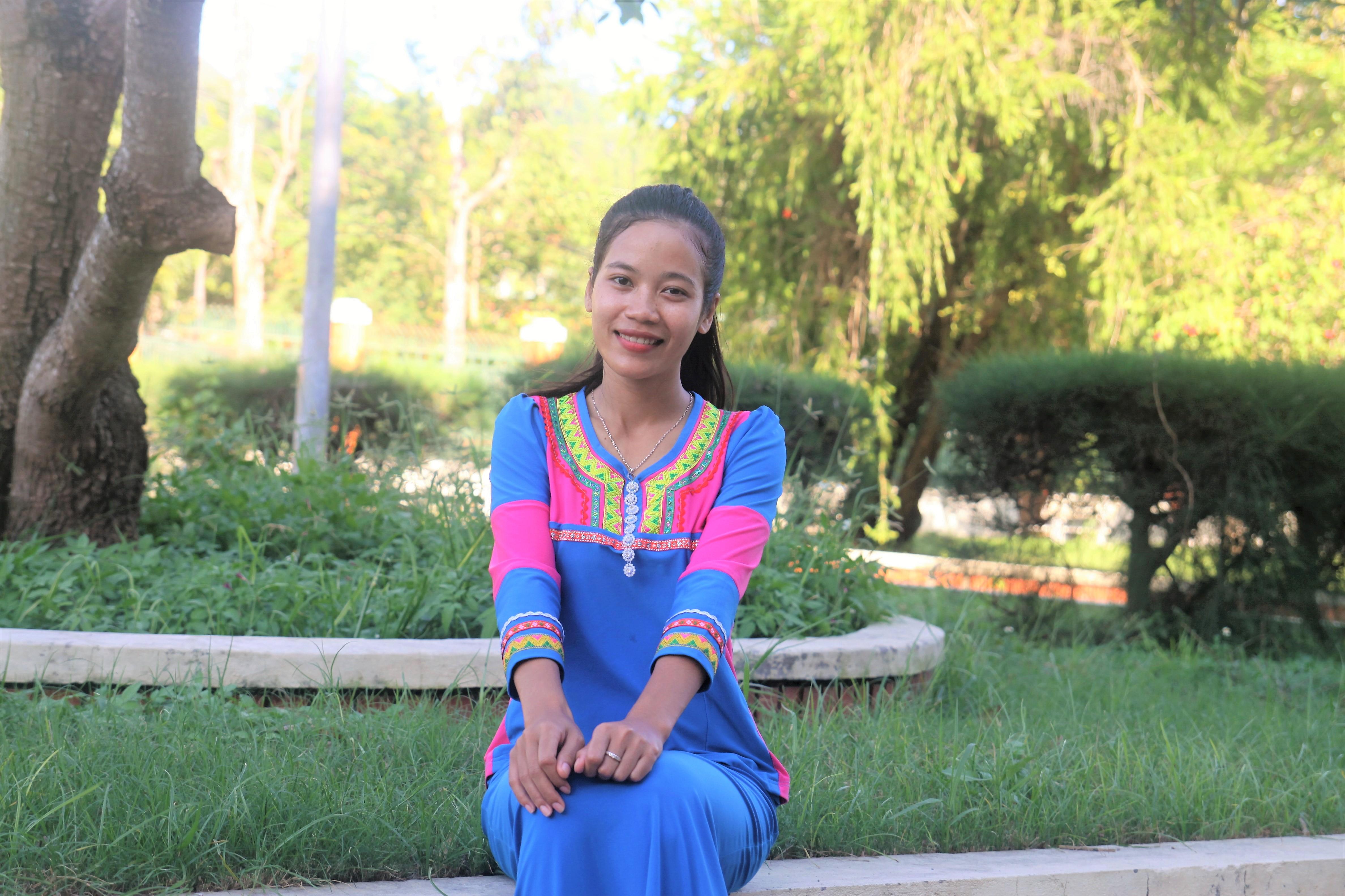 """Pinăng Thị Huệ - cô sinh viên dân tộc Raglay đạt danh hiệu """"Sinh viên 5 Tốt"""""""