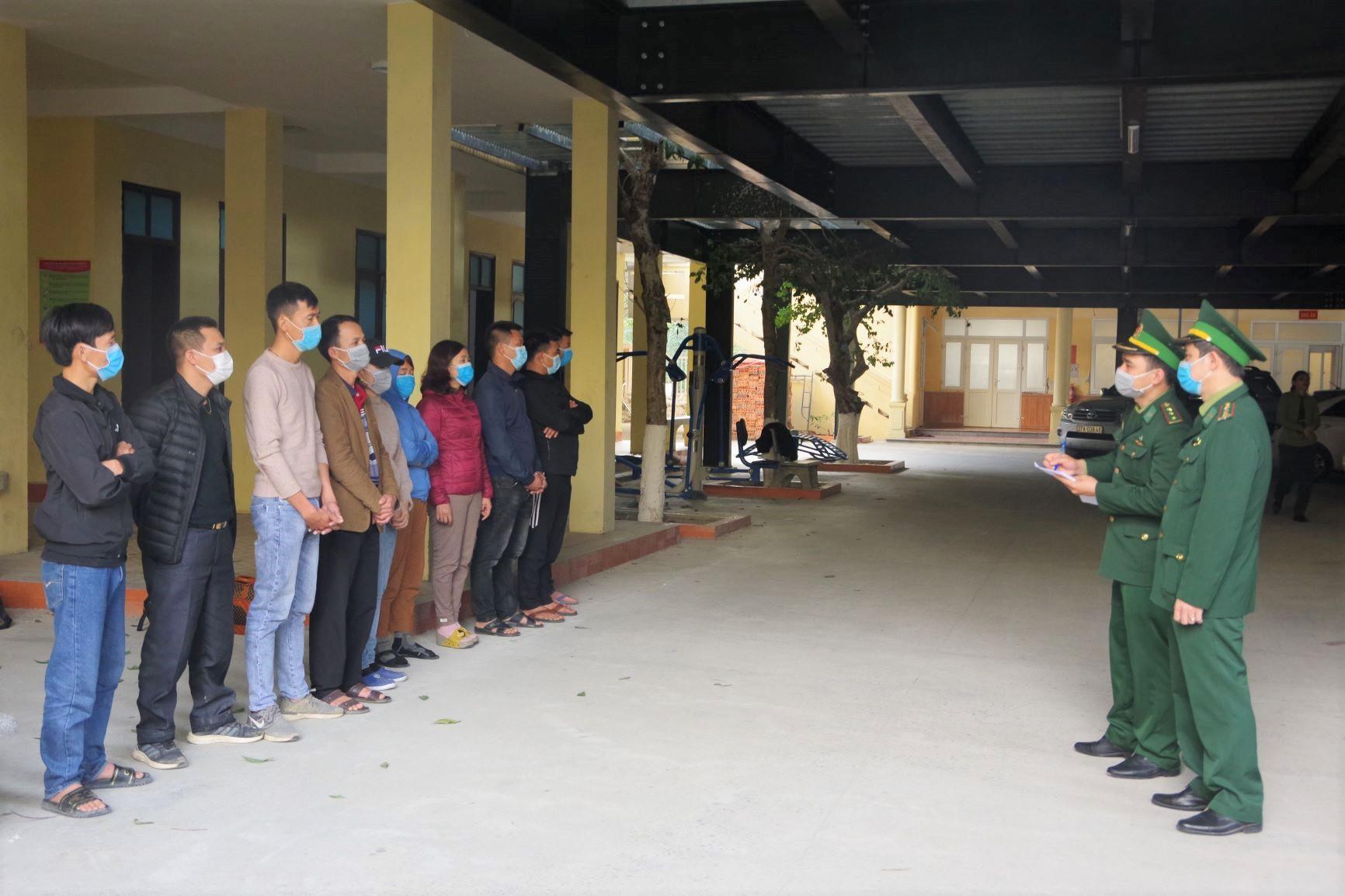 Lực lượng BĐBP Nghệ An phát hiện, đấu tranh triệt xóa một đường dây xuất cảnh trái phép.