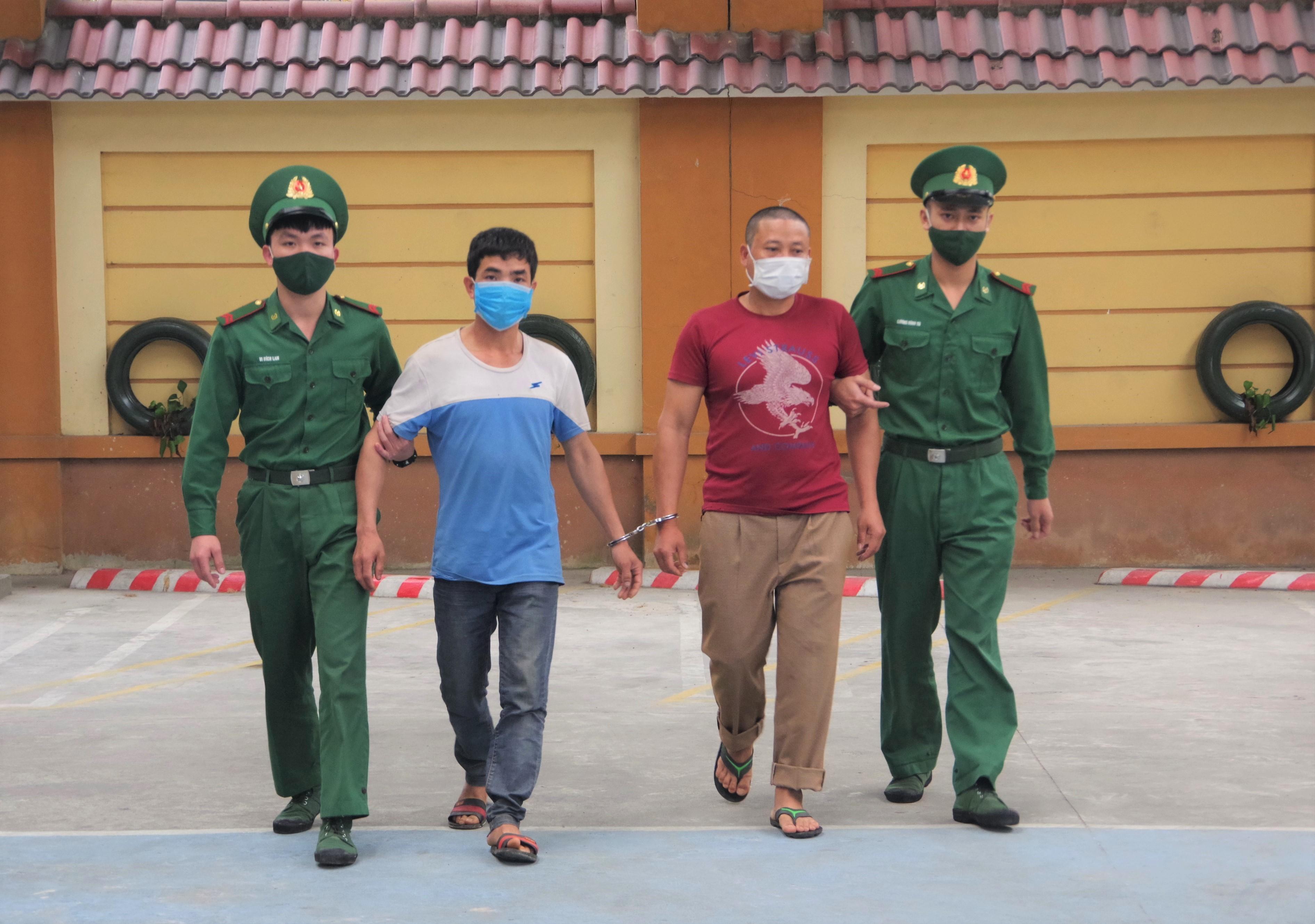 2 đối tượng có hành vi đưa người xuất cảnh trái phép bị BĐBP Nghệ An bắt giữ