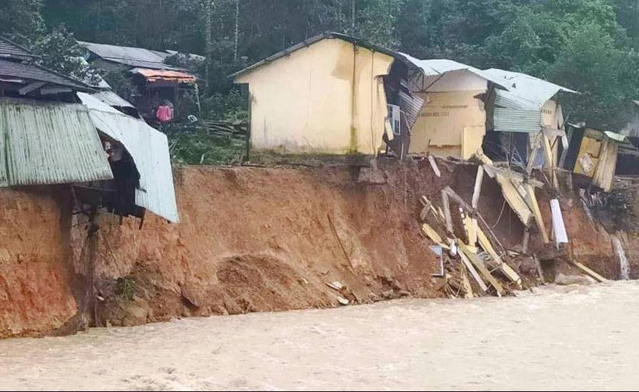 Các tỉnh thuộc khu vực Bắc Bộ và Bắc Trung Bộ đề phòng nguy cơ xảy ra lũ quét, sạt lở đất và ngập úng cục bộ
