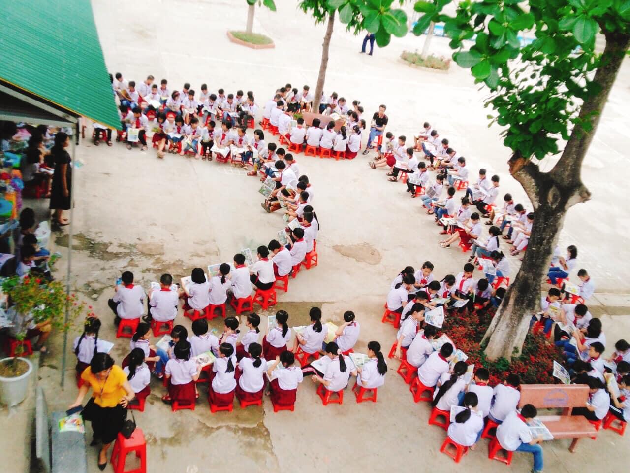"""""""Ngày hội đọc sách"""" nhằm lan tỏa văn hóa đọc trong các nhà trường"""