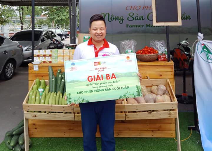 Các sản phẩm rau của HTX Nông lâm nghiệp - Thủy lợi Tân Vinh đã có chỗ đứng thị trường