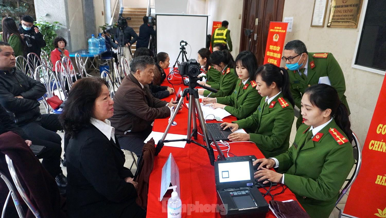 Hà Nội: Cấp căn cước công dân cả trong dịp nghỉ lễ 30-4 và 1-5