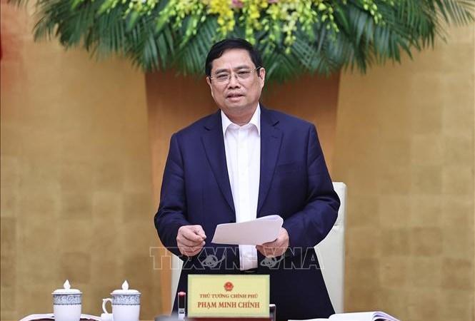 Thủ tướng Chính phủ Phạm Minh Chính. Ảnh: Dương Giang/TTXVN