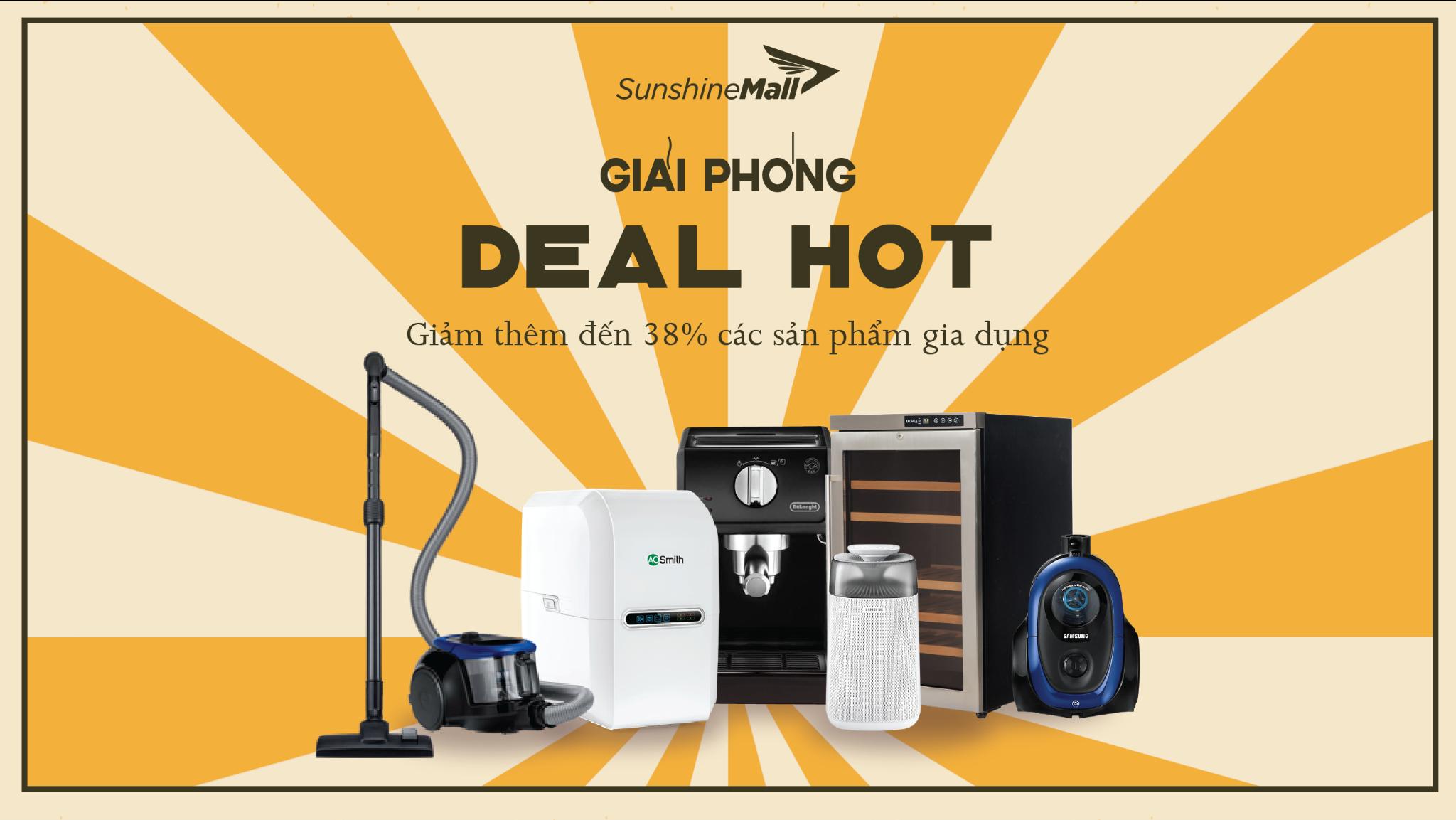 Mừng đại lễ, Sunshine Mall tung deal khủng, cơ hội nhận ưu đãi lên tới hơn 10 triệu đồng 1