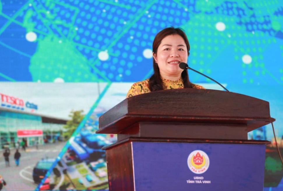 Bà Dương Thị Bích Diệp, Chủ tịch Quỹ Khởi nghiệp Xanh Việt Nam
