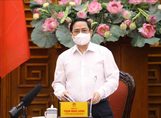 Thủ tướng Phạm Minh Chính. Ảnh: Văn Điệp/TTXVN