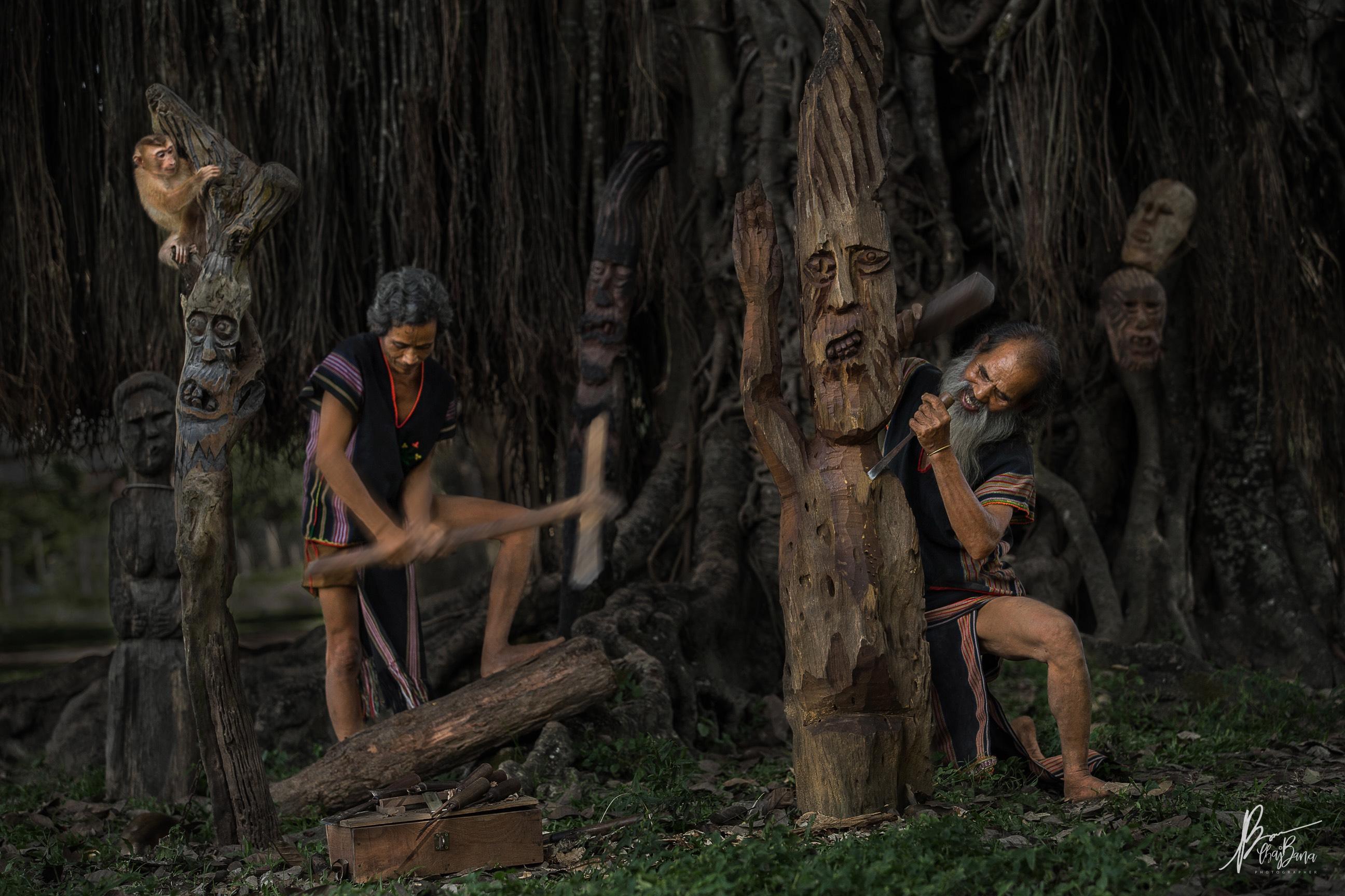 Thổi hồn vào tượng gỗ