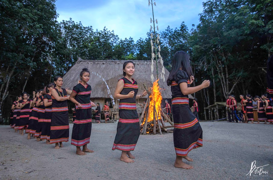 Múa xoang của dân tộc Giẻ Triêng