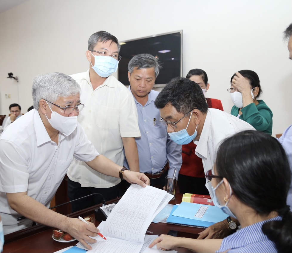 Phó Chủ tịch Uỷ ban Bầu cử Quốc gia Đỗ Văn Chiến làm việc với Ủy ban Bầu cử tỉnh Kiên Giang 4
