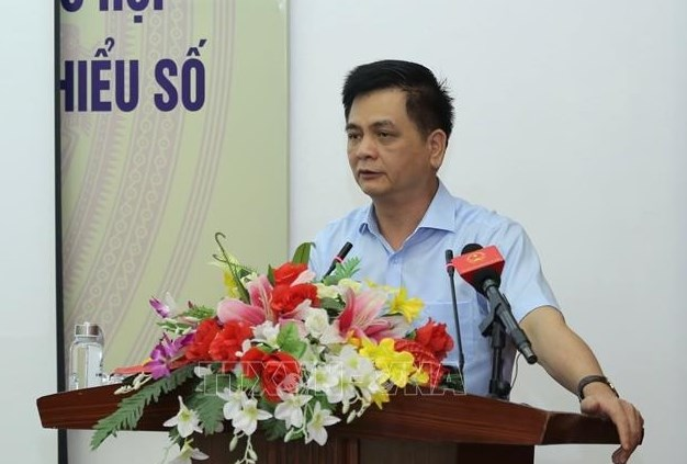 TS. Nguyễn Lâm Thành, Phó Chủ tịch Hội đồng Dân tộc của Quốc hội. Ảnh: Hoàng Hiếu/TTXVN