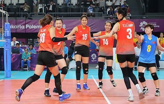 Đội tuyển bóng chuyền nữ Việt Nam chưa thể tập trung. Ảnh: LÊ THÀNH