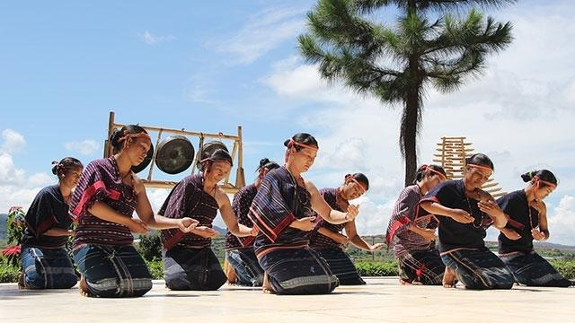Vũ điệu Tămya- Ariya của người Chu Ru (Ảnh: Tư liệu)