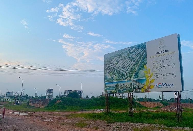 Đề xuất phạt chủ dự án khu đô thị mới Kosy (Bắc Giang) 250 triệu đồng (Ảnh: Xây dựng)