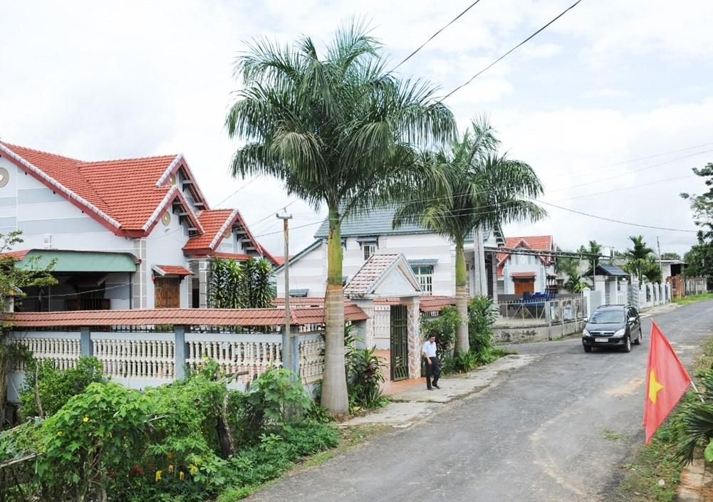 Làng quê xã Hà Mòn, huyện Đắk Hà, xã đầu tiên của khu vực Tây Nguyên đạt chuẩn nông thôn mới