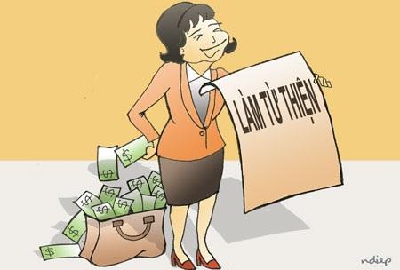 Hoạt động quyên góp từ thiện cần được giám sát chặt chẽ. (Hình minh họa)